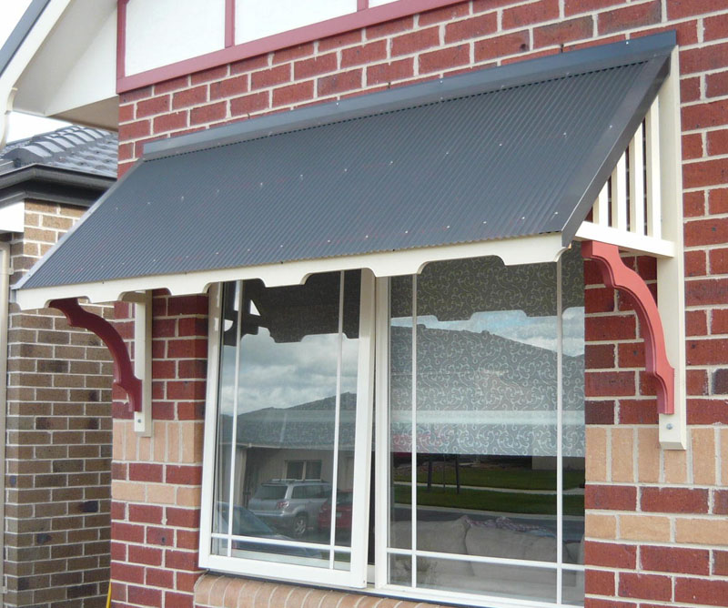Door Canopy Types & Timber Window Canopies Geelong | Surf Coast Awnings