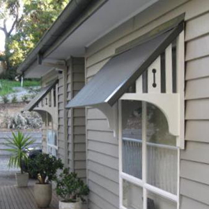Timber Window Canopies Geelong